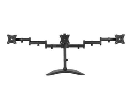 VonHaus namizni nosilec za tri monitorje