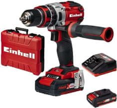 Einhell akumulatorski udarni vrtalnik TE-CD 18 Li-i Brushless Power X-change, baterija in polnilnik