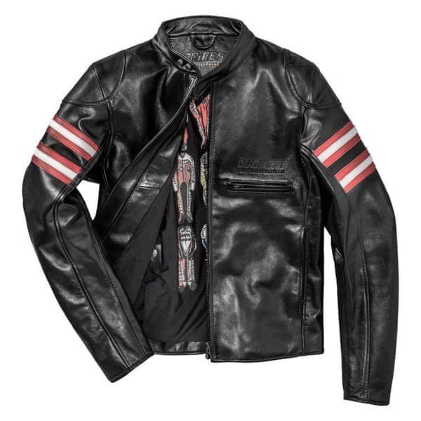 Dainese bunda RAPIDA72 (Settantadue) vel.56 černá, kůže
