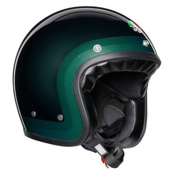 AGV přilba X70 Trofeo zelená (kolekce Legends) vel.ML (57-58cm)