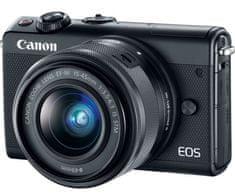 Canon fotoaparat EOS M100 EF-M 15-45 IS STM, črn - Odprta embalaža