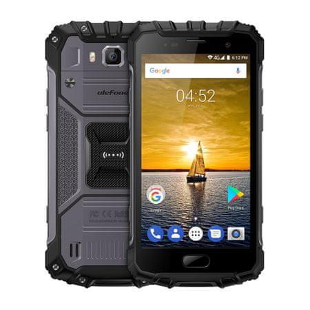 Ulefone mobilni telefon Armor 2, črn