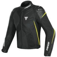 Dainese pánska šport moto bunda  SUPER RIDER D-DRY čierna/fluo-žltá