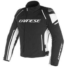 Dainese pánska šport moto bunda  RACING 3 D-DRY čierna/biela