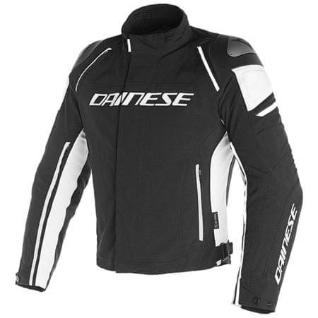 Dainese bunda RACING 3 D-DRY vel.44 černá/bílá, textilní