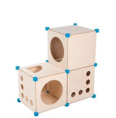 CubeBox mačji labirint CatBox - 3BOX