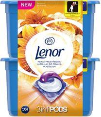 Lenor gélové kapsuly Silk Orchid 28 ks
