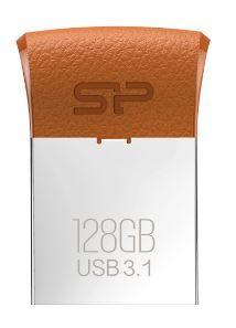 Silicon Power USB ključ Jewel J35 64 GB, USB 3.1, rjav