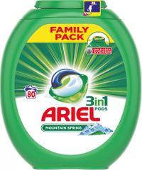 Ariel Mountain Spring 3v1 gel kapsule, 80 kosov
