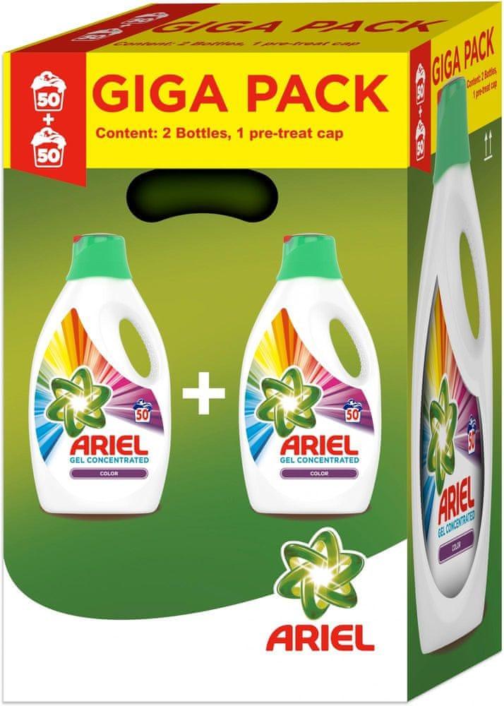 Ariel Color gel 2 x 2,75 l (100 praní)