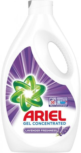 Ariel Prací gel Levandule 2,75 l (50 praní)