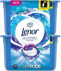 Lenor gelové kapsuly Waterlily 28 ks