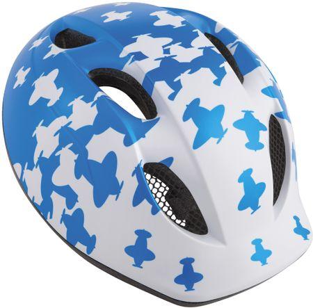 MET kask Buddy Samolot/niebieski/biały, S/M (46-53 cm)