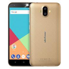 Ulefone S7, 1GB/8GB, DualSIM, arany színű okos telefon