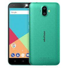 Ulefone S7, 1GB/8GB, DualSIM, zöld okos telefon