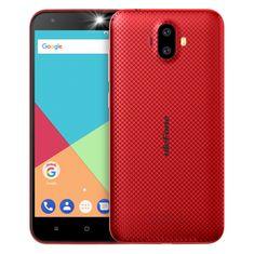 Ulefone S7, 1GB/8GB, DualSIM, piros okos telefon