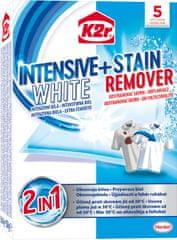 K2R Intenzivní bílá + odstraňovač skvrn 5 ks