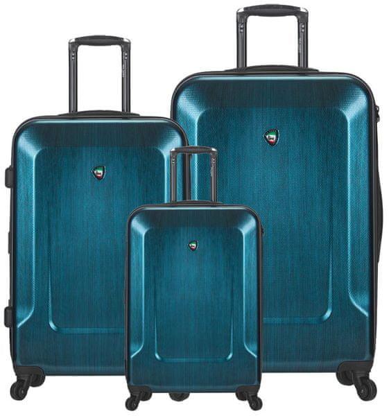 Mia Toro Sada cestovních kufrů M1535/3 modrá