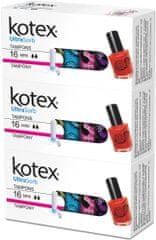 Kotex Tampony Ultra Sorb Mini 3x 16 ks