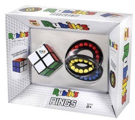 Rubik Rubik kocka 2x2 + összerakható gyűrűk