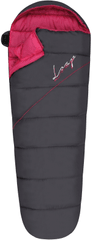 Loap ženska spalna vreča Denali L dk.shadow/magenta