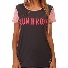 Roxy majica Cutback Tee Dark Midnight, ženska