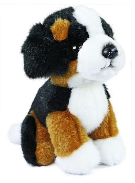 Rappa Plyšový pes salašnický sedící, 18 cm