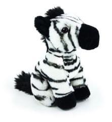 Rappa pluszowa zebra, w pozycji siedzącej, 18 cm