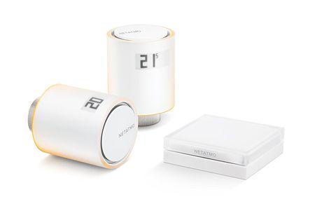 Netatmo pametni radiatorski ventil Kit NVP-N-EC