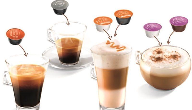 Krups kávovar na kapsle KP130831 NESCAFÉ DOLCE GUSTO LUMIO - zánovní