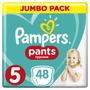 1 - Pampers hlačne plenice Active Pants 5 Junior, Jumbo Pack, 48 kosov