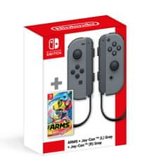 Nintendo SWITCH ARMS + Switch Joy-Con (para) szare