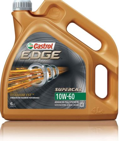 Castrol ulje Edge Supercar 10W60, 4L