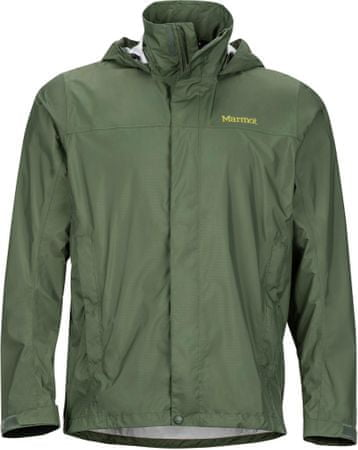 Marmot moška jakna PreCip, sivo/zelena, XL