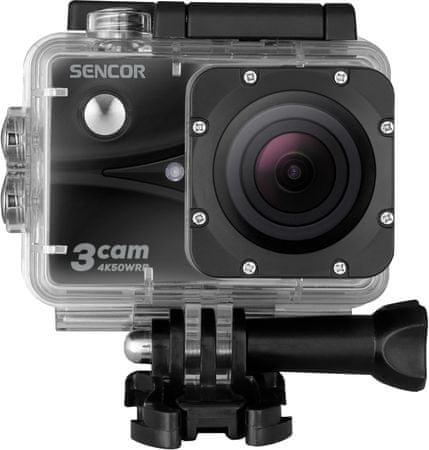 SENCOR kamera sportowa 3CAM 4K50WRB