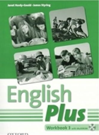Hardy-Gould Janet: English Plus 3 Workbook with MultiRom CZ