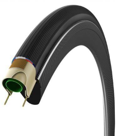 Vittoria plašč Corsa Control G+, 25x700, 320 TPI, črn