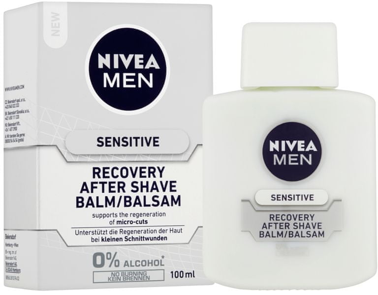 Nivea MEN Balzám po holení Sensitive Recovery 100 ml