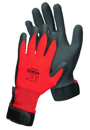 Červa JACDAW rukavice máčená v PVC 6