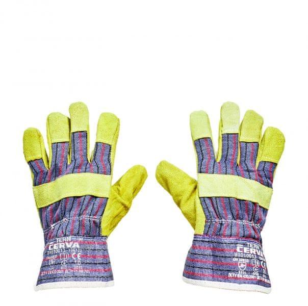 Ochranne rukavice kombinovane tern levně  c24da11bc2