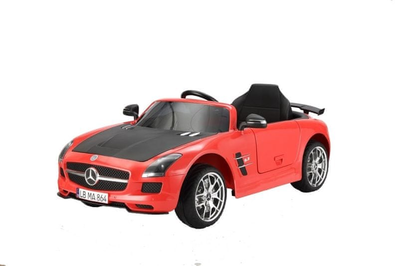 Hecht Dětské autíčko - Mercedes Benz SLS AMG červená