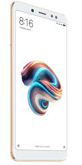 Xiaomi GSM telefon Redmi Note 5, 3GB/32GB, zlat