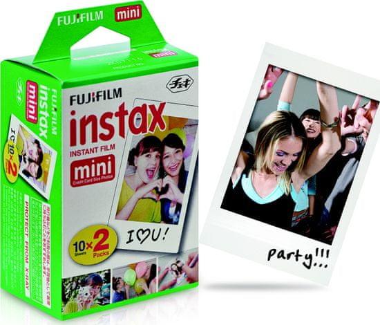 FujiFilm Instax Mini Instant Film Glossy 20ks (EU 2 10x2/PK)
