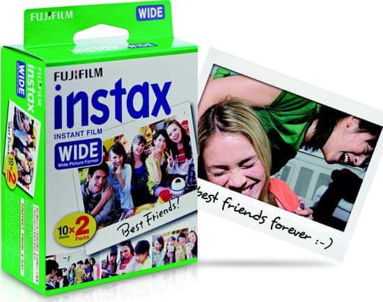 FujiFilm papir Instax Film Wide (20 listov) - Odprta embalaža