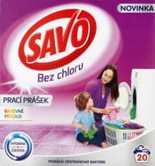 Savo Prací prášek na barevné prádlo 1,4 kg (20 praní)