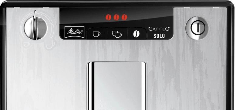 Ekspres automatyczny do kawy z systemem ekstrakcji aromatu przygotuje 2 filiżanki kawy w tym saym czasie