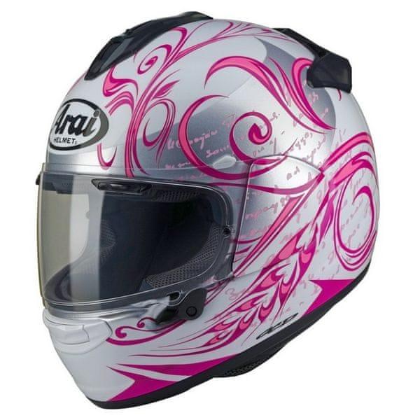 Arai přilba CHASER-X Style pink vel.S (55-56cm)