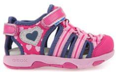 Geox Dívčí sandály Multy - růžovo-modré