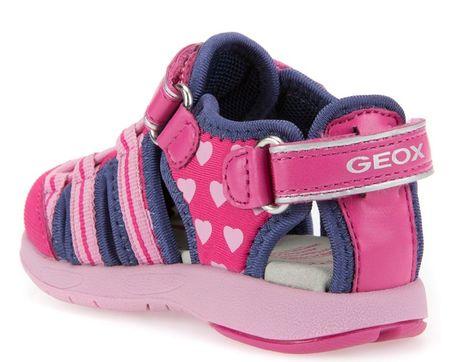 ba3f18fba35 Geox dívčí sandály Multy 26 růžovo-modrá