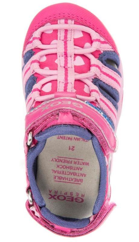 d0473ab02a8 ... 3 - Geox dívčí sandály Multy 20 růžovo-modrá ...